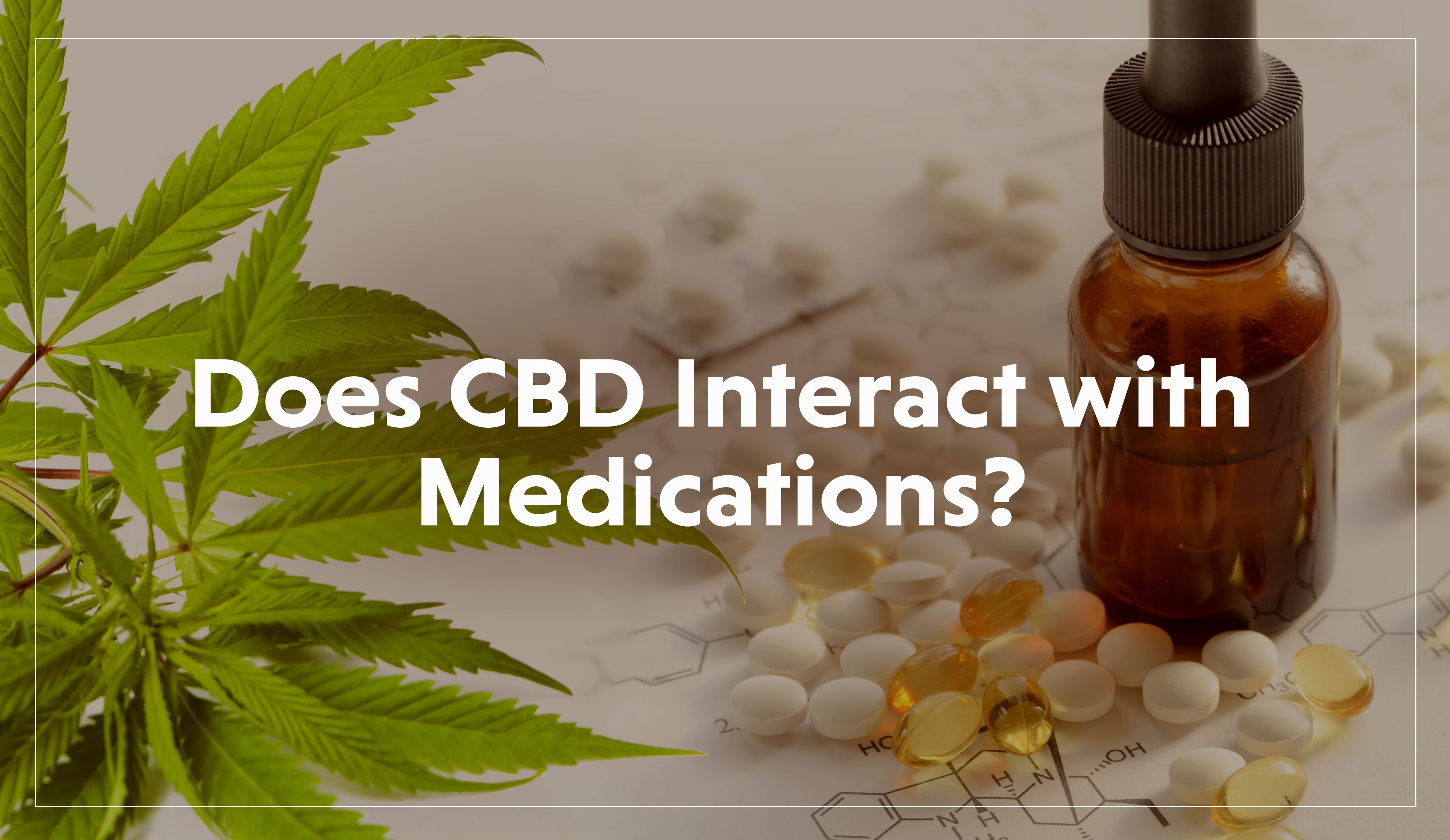 Does CBD Interact with Medications?