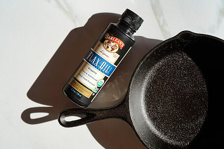 Flax and cast iron blog image_KC