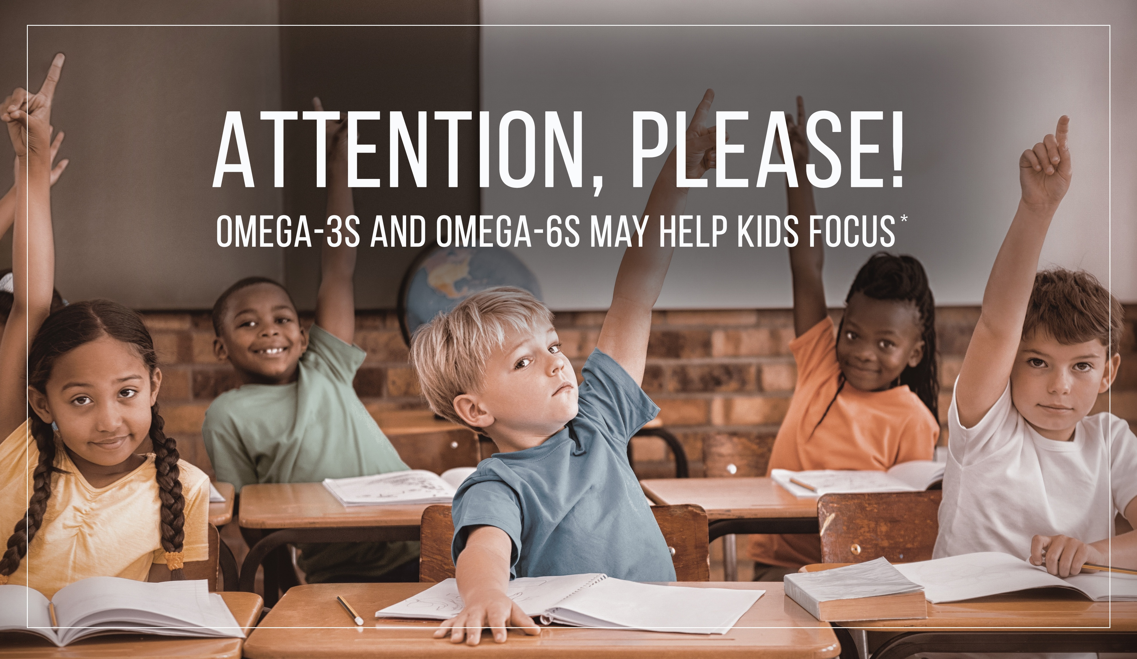 Kids Attention Omega3 and 6