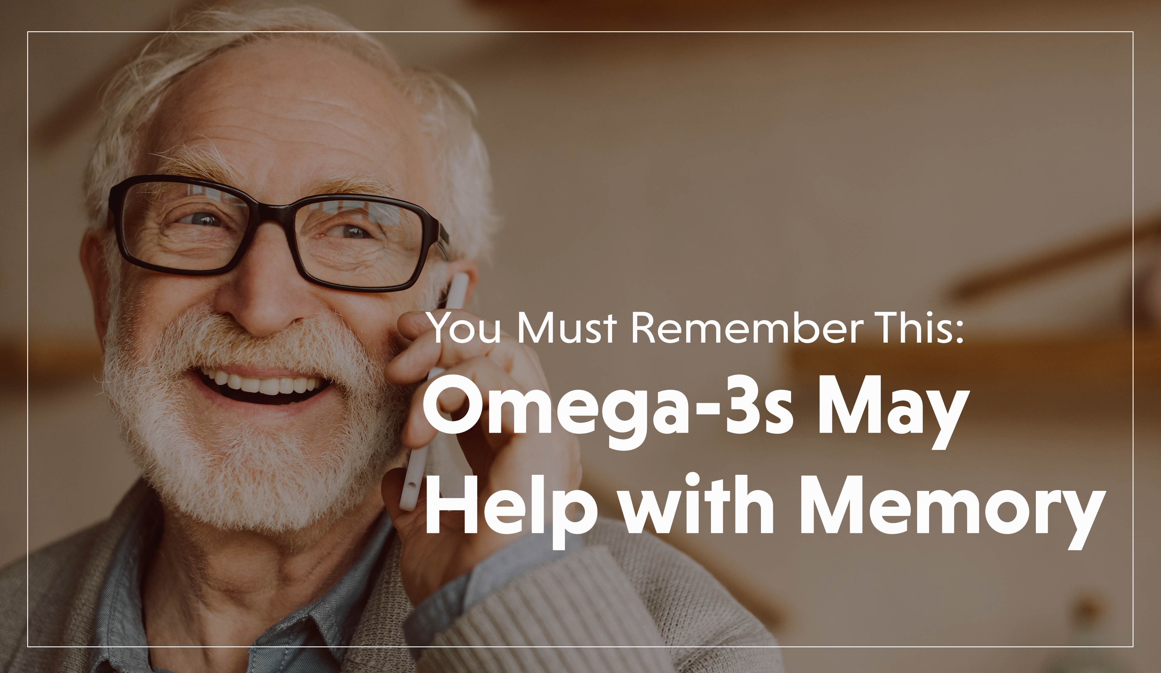 Omega-3s May Help with Memory-1